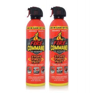 Fire Command Fire Extinguishing Aerosol Foam Spray Fire Suppressant
