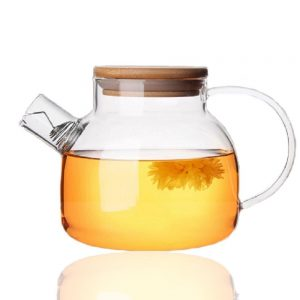 Tealife Good Glass Teapot Borosilicate Glass Tea Pots Stovetop Safe