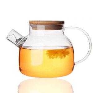 Tealife Good Glass Teapot Borosilicate Glass Tea Pots Stovetop Safe