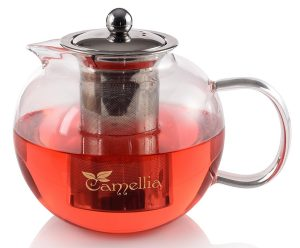 Camellia Teapot with Stainless Steel Infuser