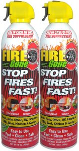 Fire Gone 2NBFG2704 Fire Suppressant Canisters