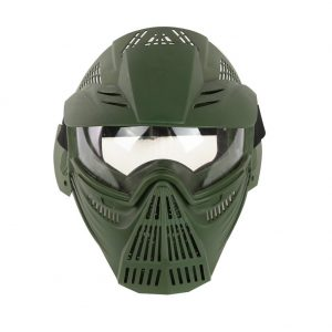 YASHALY Airsoft Mask Adjustable Full Face Army Military Tactical Gear