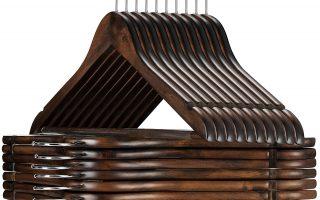 Top 10 Best Wooden Hangers 2020 Review