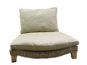 Xoticbrands Seagrass Harmony Meditation Chair