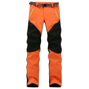 CATERTO Women's Windproof Snow Pant Softshell Fleece Mountain Ski Pants