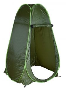 TMS Portable Green Outdoor Pop Up Tent Camping Shower
