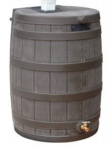 Good Ideas RW40-OAK Rain Wizard Rain Barrel