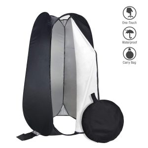 PARTYSAVING 6 FT Portable Privacy Outdoor Pop-up Room Tent Camping Shower