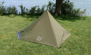 River Country Products One Person Trekking Pole Backpack Tent