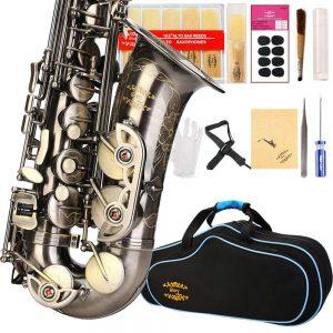 GLORY ENGRAVED FLOWER DESIGN-Glory High-Grade Saxophone