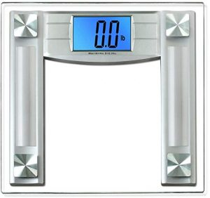 BalanceFrom Silver 400-Pound Digital Weight Scale