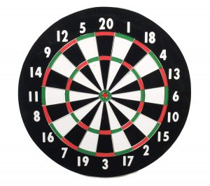 Classic Game Collection 18'' Old Style Dart Board