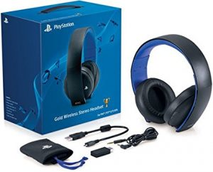 Sony Play Station Gold wireless headphones Review