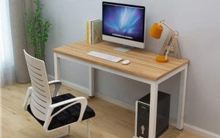 Top 10 Best Wooden Computer Desks In 2020 Review