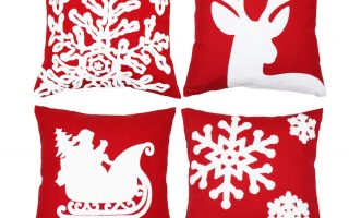 Top 5 Best Christmas Pillow Covers In 2020 Review