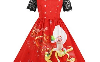 Top 5 best women's ugly Christmas sweater dress for the party in 2020 review