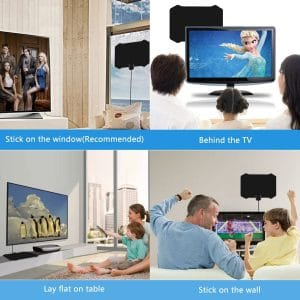 Skywire Antenna for Indoor, Amplified HD Digital TV Antenna