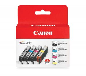 Canon CLI-221 color ink pack
