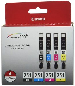 Canon CLI-251 4-color pack