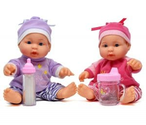 Little Princess Baby Twin Dolls
