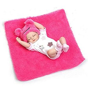 Pinky Reborn mini silicone baby