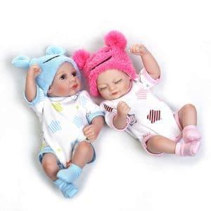 NPK Reborn baby doll twins