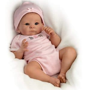 The Ashton - Drake Galleries Tasha Edenholm mini silicone baby