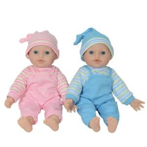 "The New York Doll Collection 12 ""Twin Baby Doll"