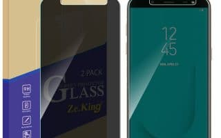 Top 5 best Samsung Galaxy J6+ Screen Protector in 2020 review