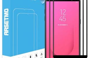 Top 5 best Samsung Galaxy J8 Screen Protector in 2020 review