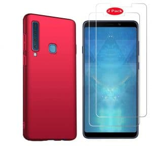 Samsung galaxy a9 2020 case with screen protection