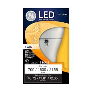 GE Lighting 92119 3-way LED