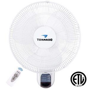 Tornado wall oscillating fan