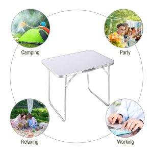 Goplus Mobile Camping Table