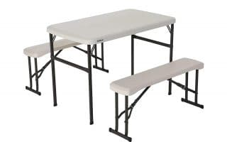 Top 5 best folding camping table with seats in 2020 reviews
