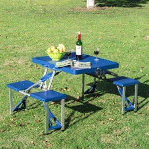 Outsunny portable folding table