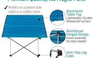 Top 5 Best Camping Table Walmart 2020 reviews