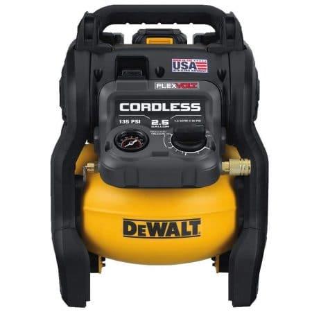 DEWALT portable air compressor