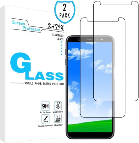 KATIN Galaxy A6 Plus 2018 Screen Protector