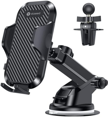 VICSEED Universal Car Phone Mount Car Phone