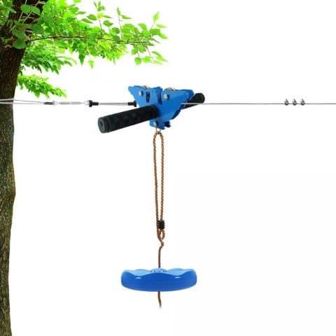 X XBEN Zip line Kits for Backyard 98FT