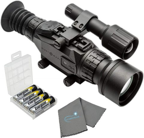 Sightmark Wraith HD 4-32x50 Digital Riflescope Bundle