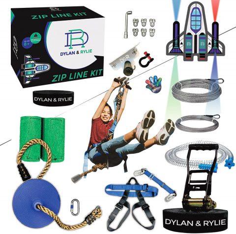 Zipline Kits For Backyard Zipline Kit For Kids And Adults